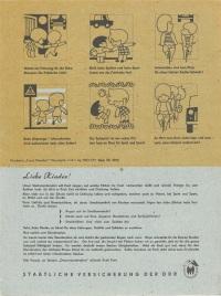 Staatliche Versicherung der DDR - Stundenplan