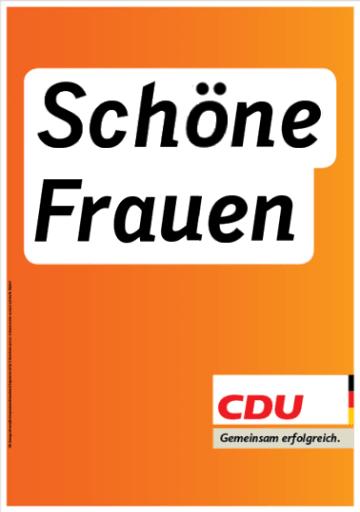 CDU: Schöne Frauen
