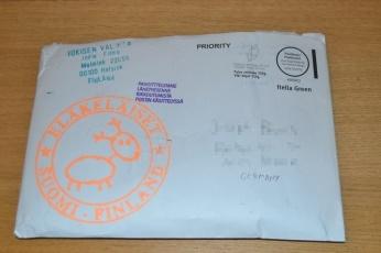 Humppakalmisto: Umschlag vorn