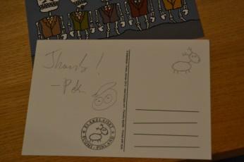 Pekka: Dankeschön und Autogramm - Detailansicht