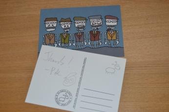 Pekka: Dankeschön und Autogramm